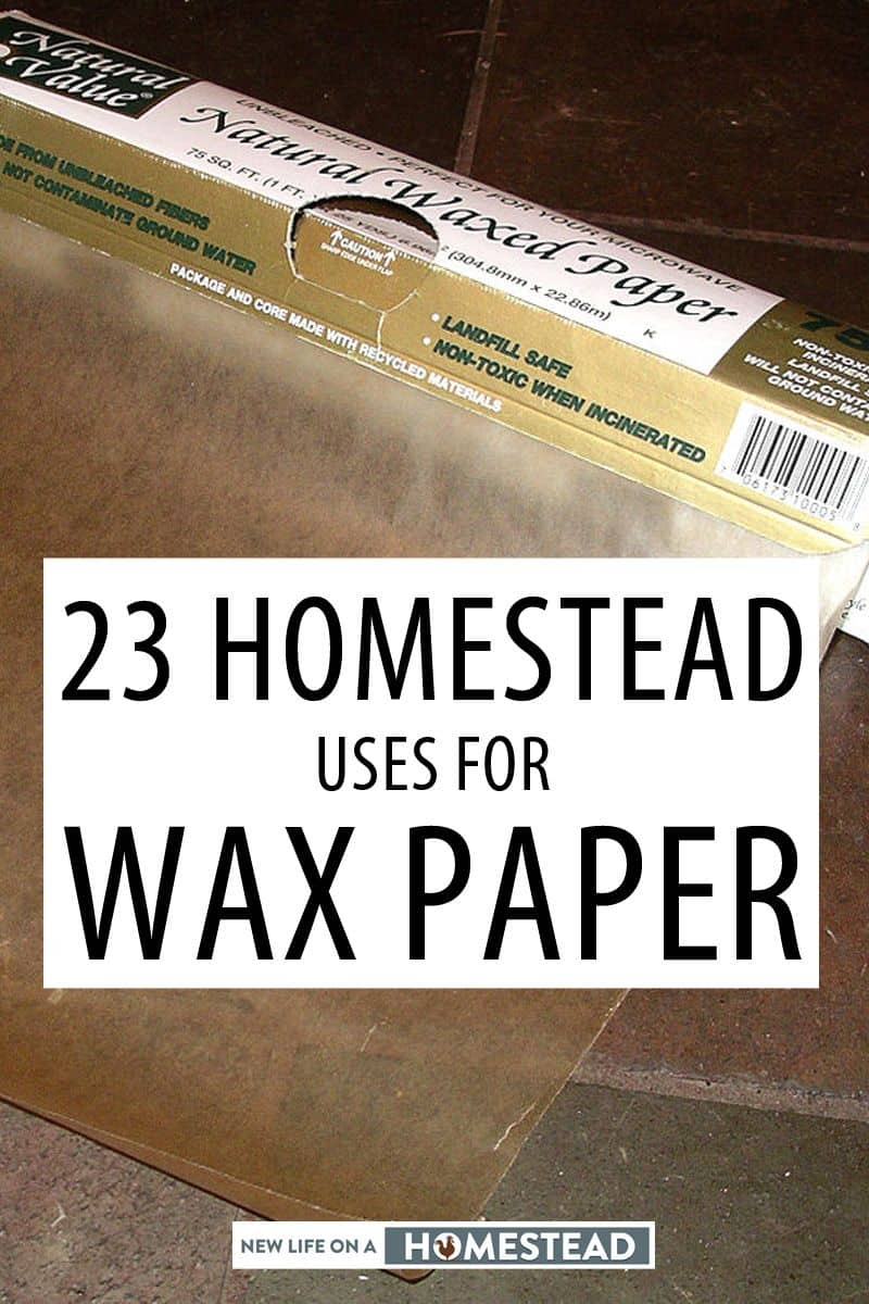 wax paper uses pinterest image