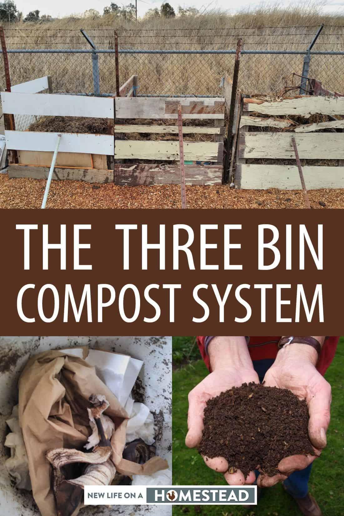 3-bin composting Pinterest image