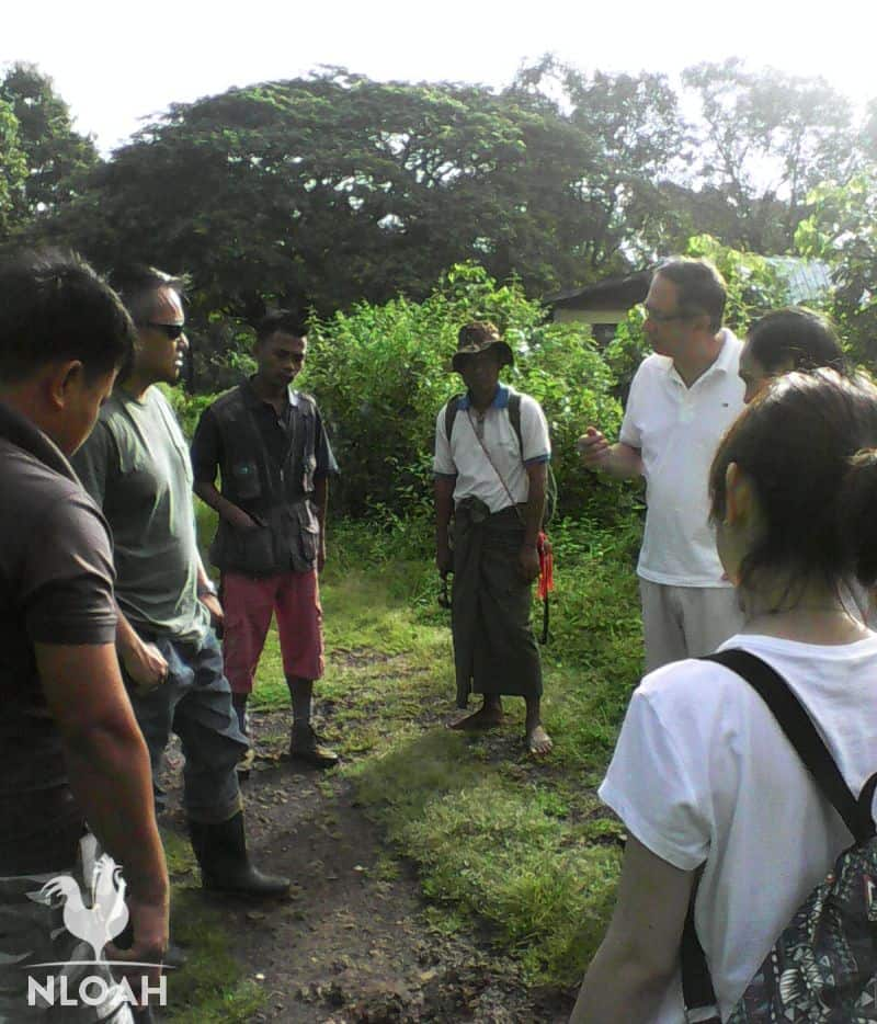 discussing a new permaculture project