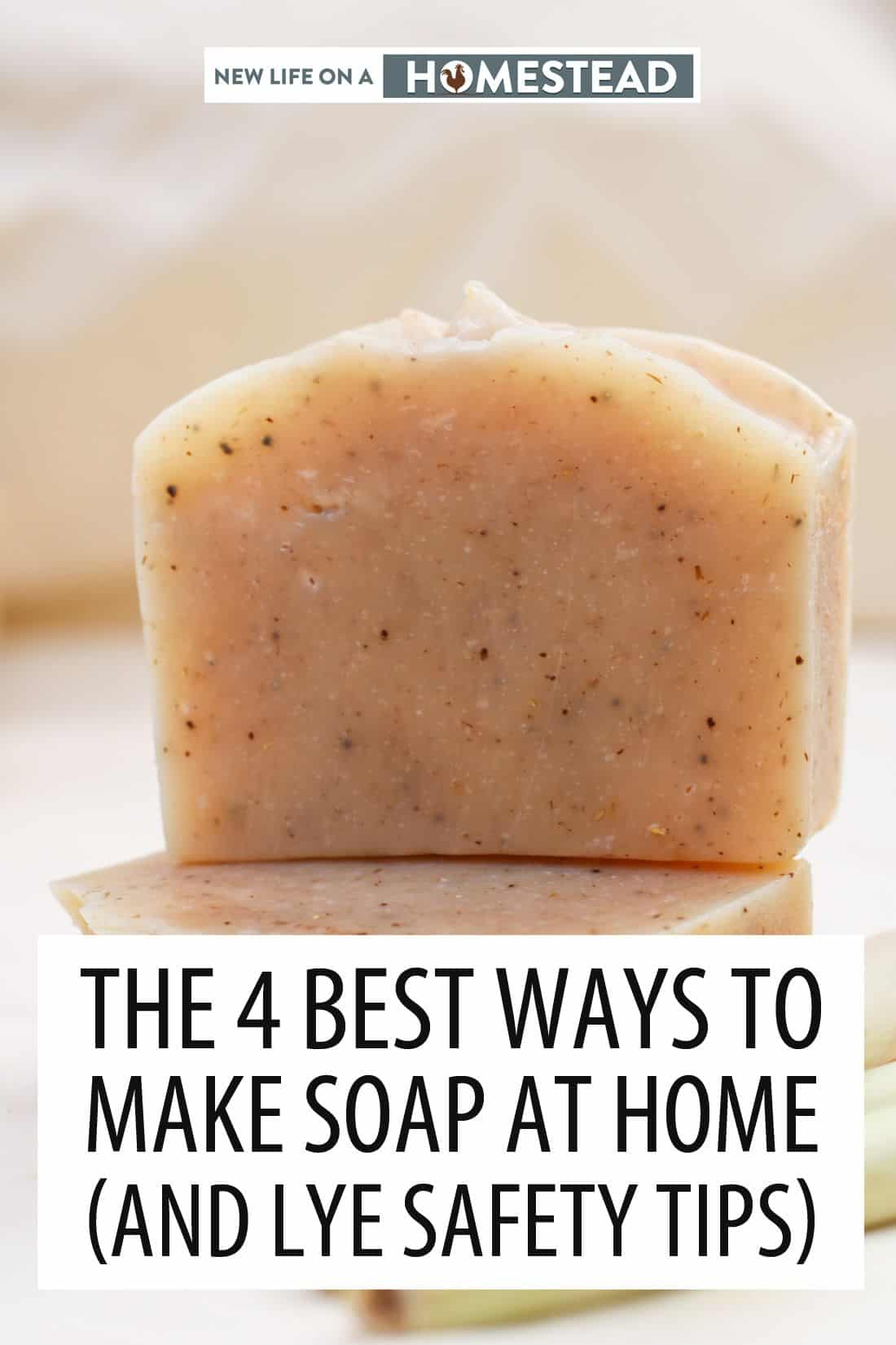 making soap at home pinterest