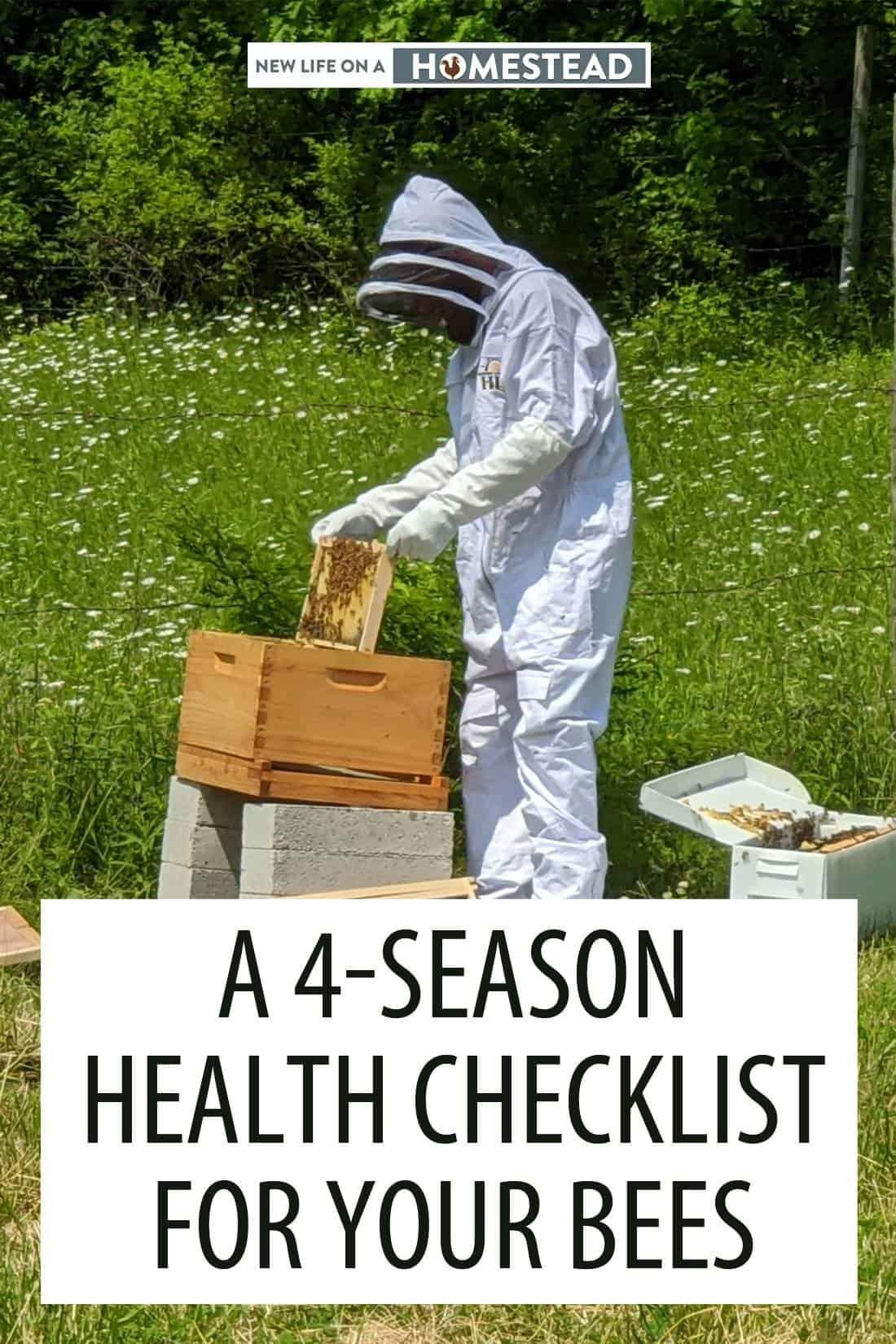 bees checklist pinterest
