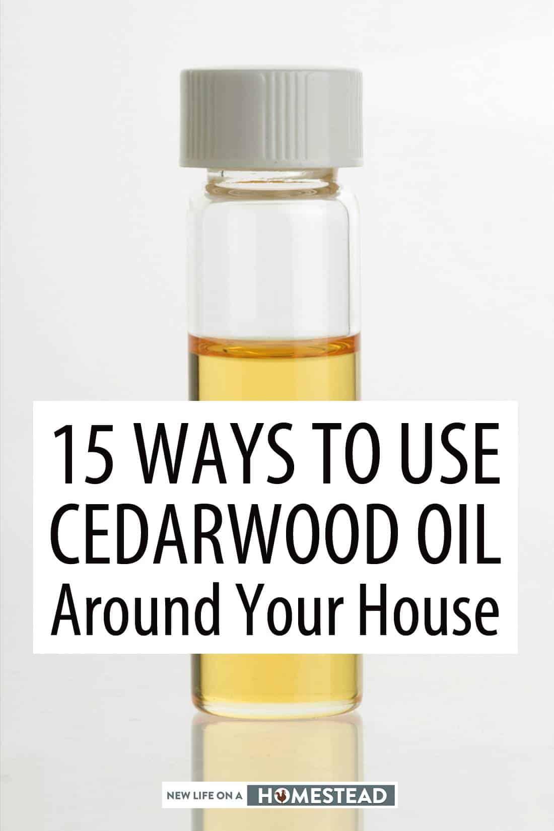 cedarwood oil Pinterest