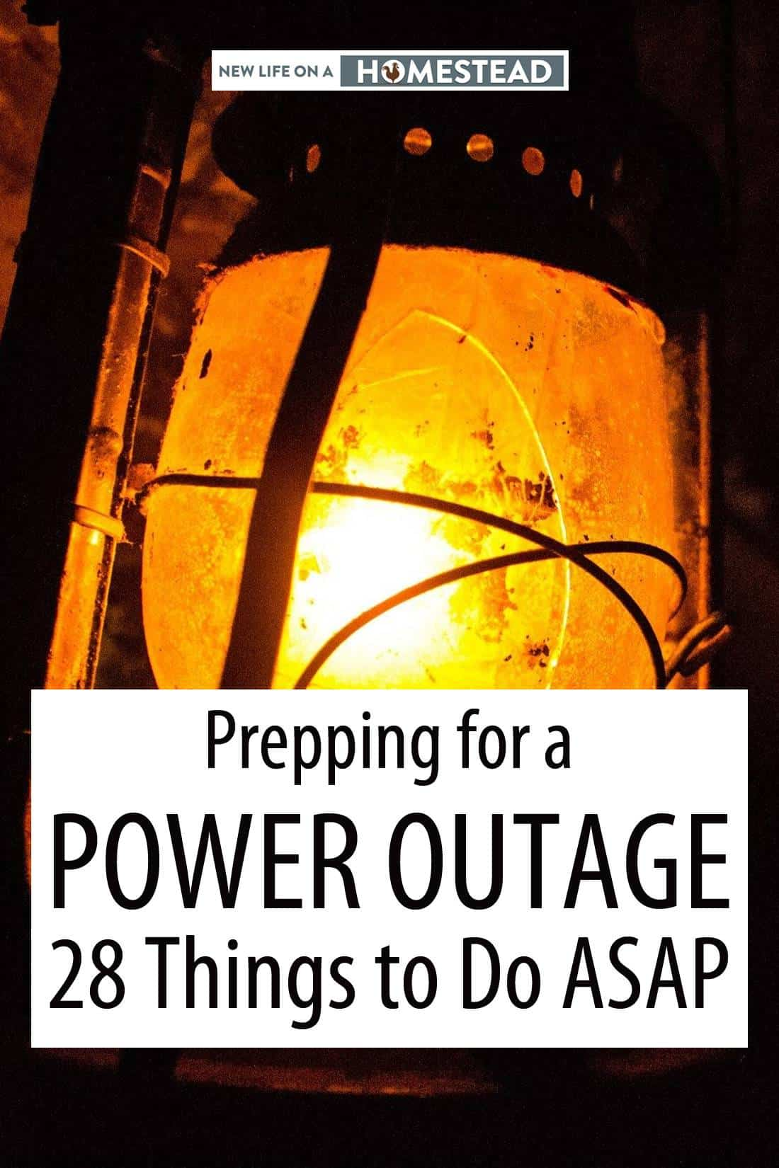 homestead power outage prepping pinterest